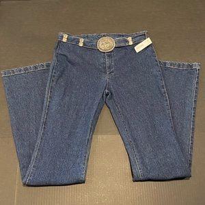 New Vertigo Paris denim jeans with metal hardware